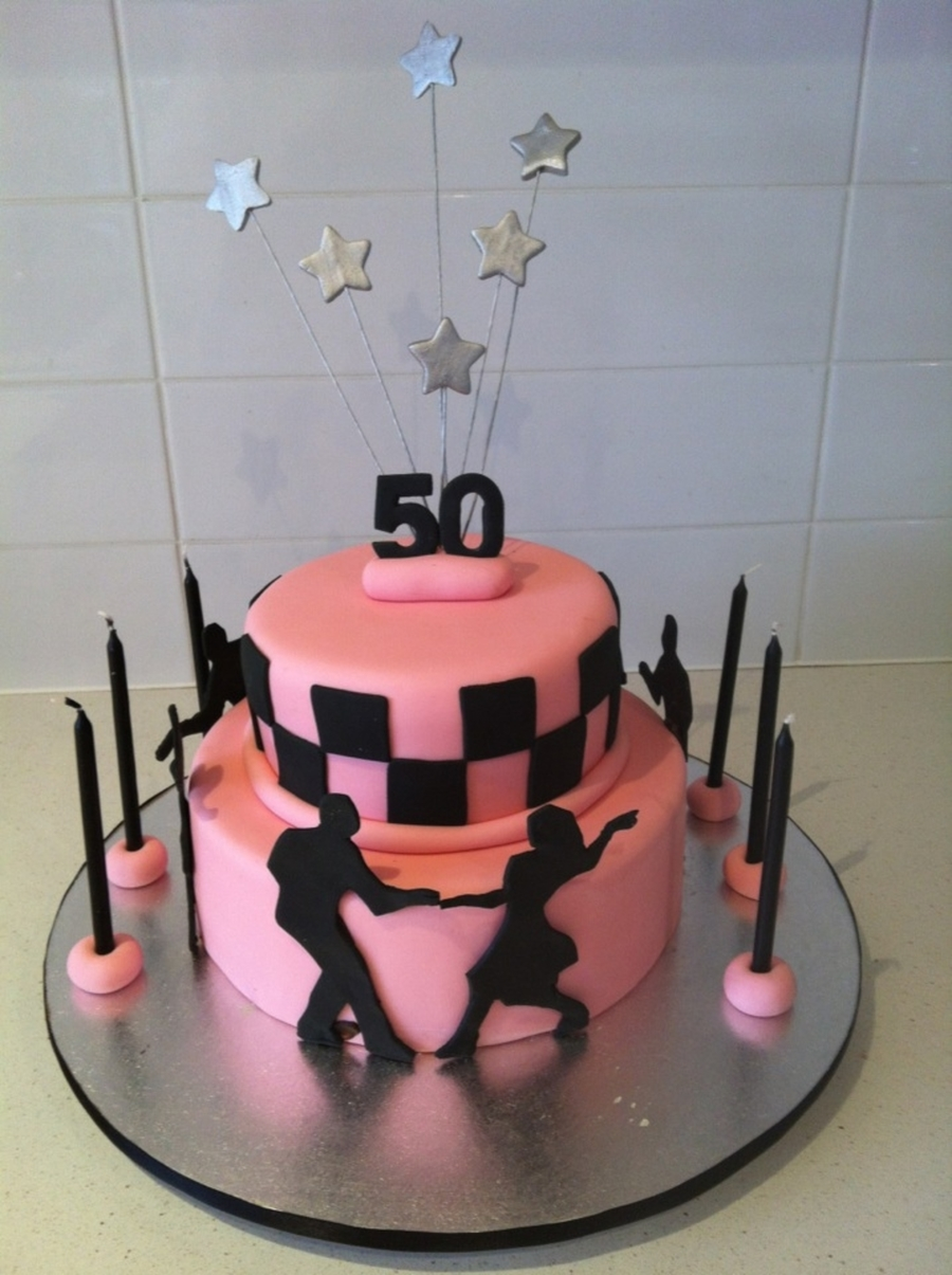 60S Rock & Roll Cake - CakeCentral com