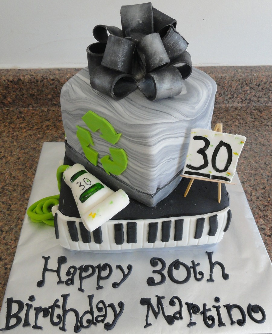 Sensational 30Th Birthday Cake Cakecentral Com Funny Birthday Cards Online Hendilapandamsfinfo