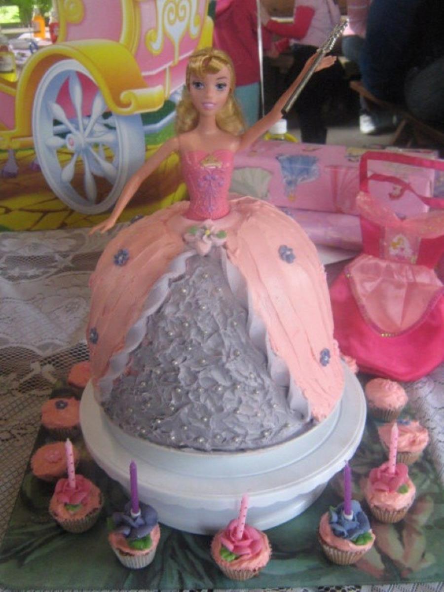 Barbie Princess Dress Cake Cakecentral
