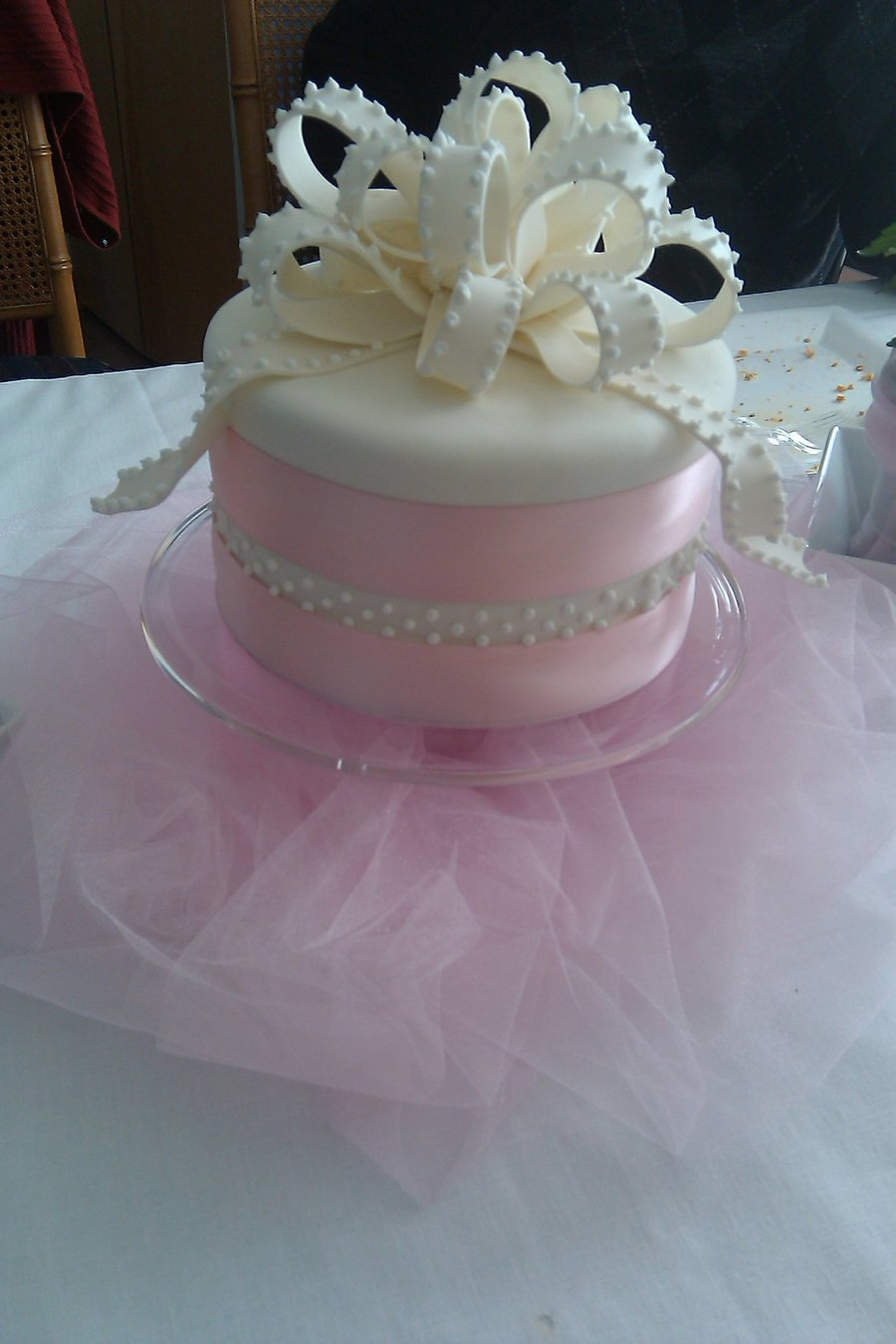 Baby Girl Baptism on Cake Central