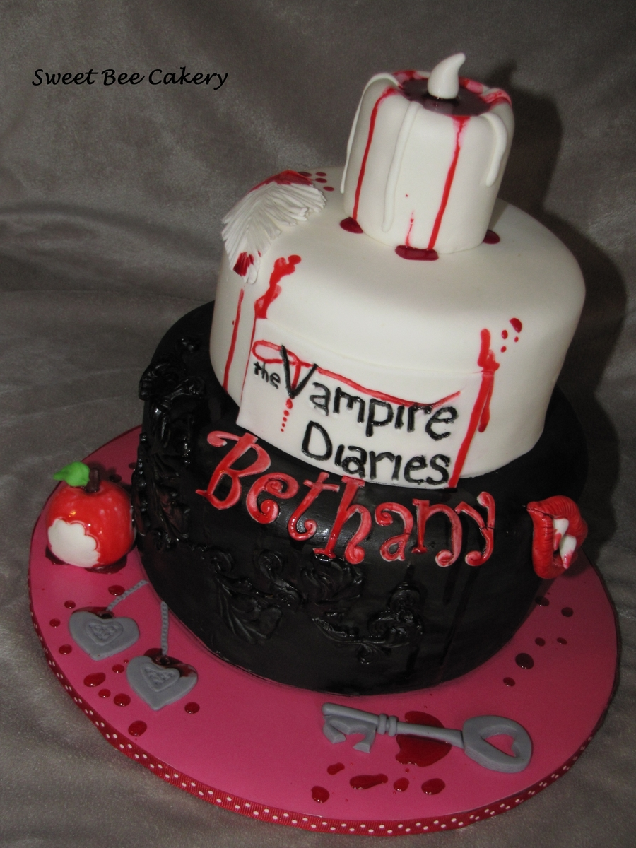 Vampire Diaries Cakecentral