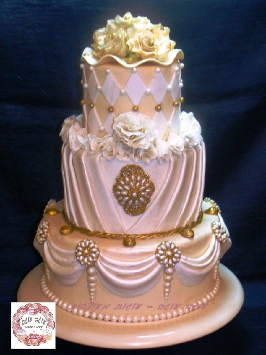 top wedding cakes bling bling the top 3 tier wedding cake cakecentral 21101