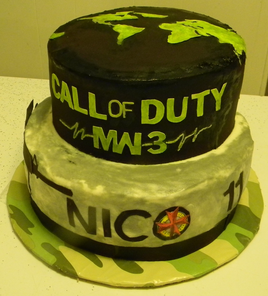 Call Of Duty Mw3 Cakecentral Com