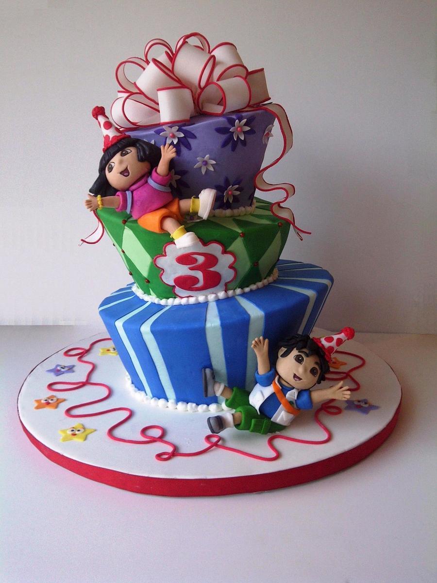 Dora And Diego Cakecentral Com