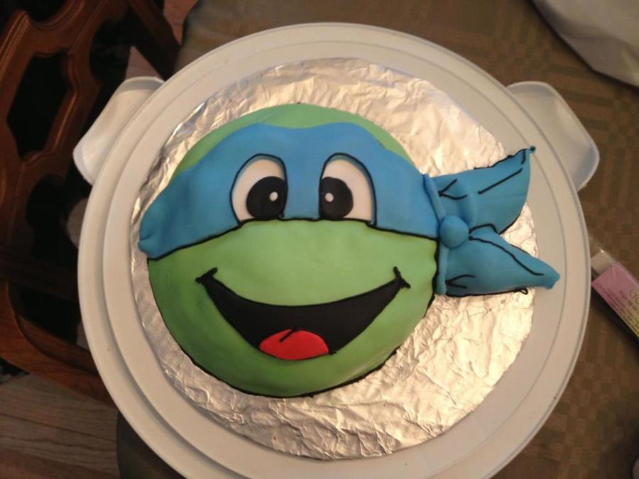 Tmnt Grooms Cake  on Cake Central