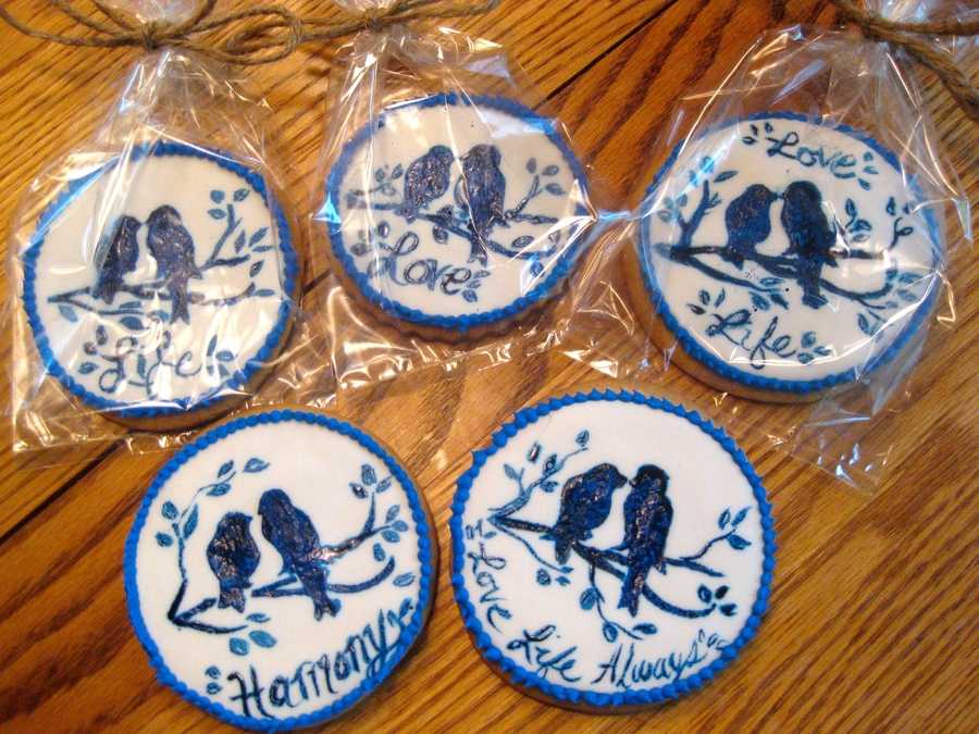 Blue Birds on Cake Central