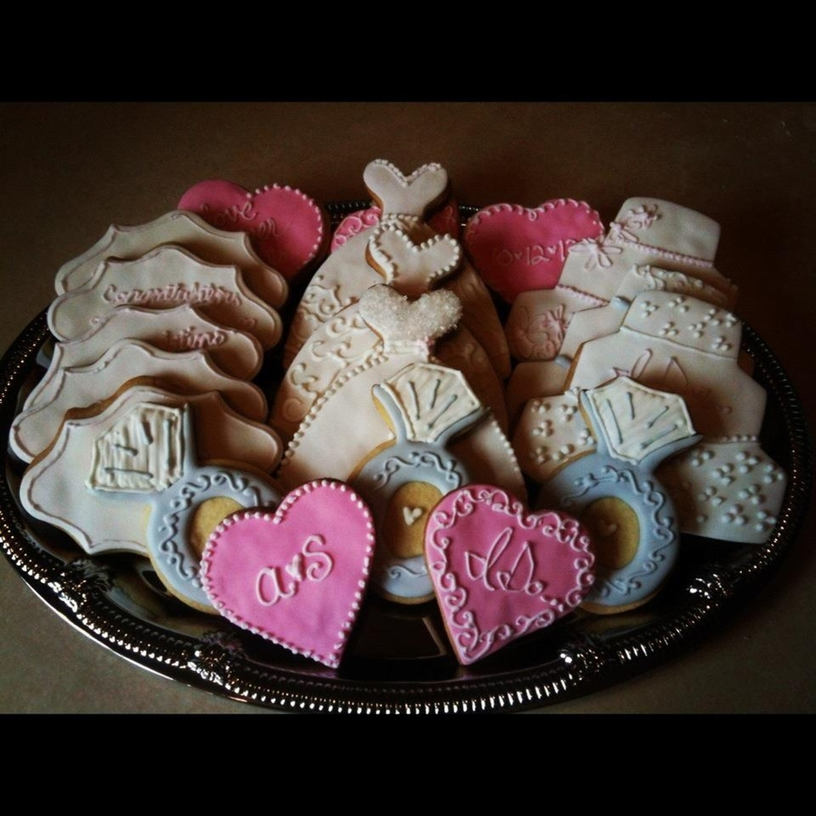 Wedding Cookie Platter - CakeCentral.com