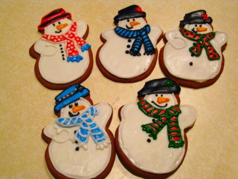 Snowmen Cookies on Cake Central