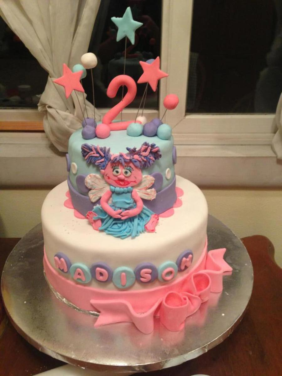 Stupendous Abby Cadabby Birthday Cake For A Little Girls 2Nd Birthday Funny Birthday Cards Online Elaedamsfinfo