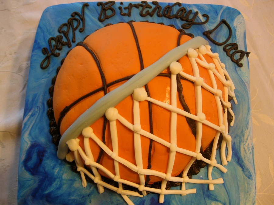 Basketball Birthday Cake on Cake Central