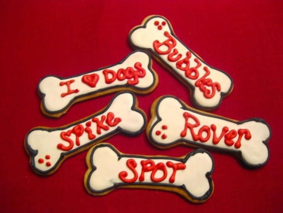 Dog Bone Cookies  on Cake Central