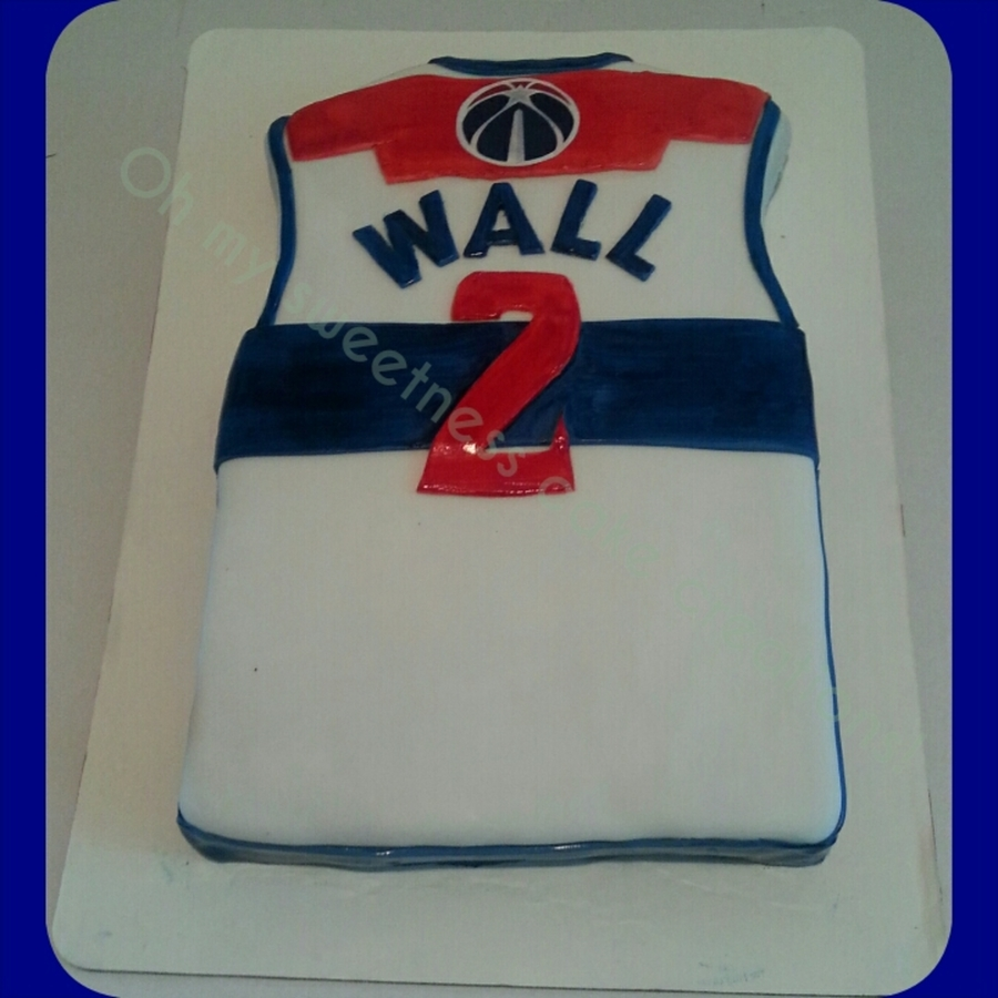 newest collection 0c2db 692d6 John Wall Jersey - CakeCentral.com