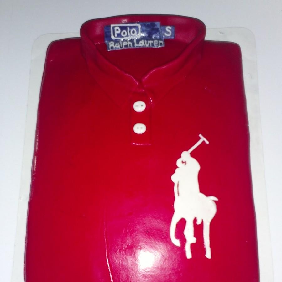 Cake Polo Shirt Design : Polo Shirt Cake - CakeCentral.com