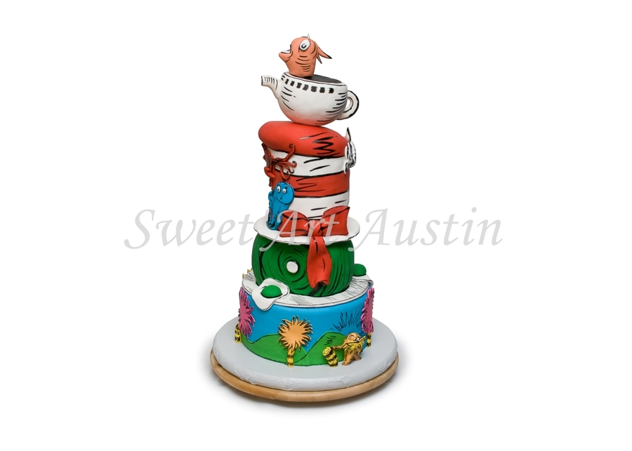 By Seuss!  on Cake Central