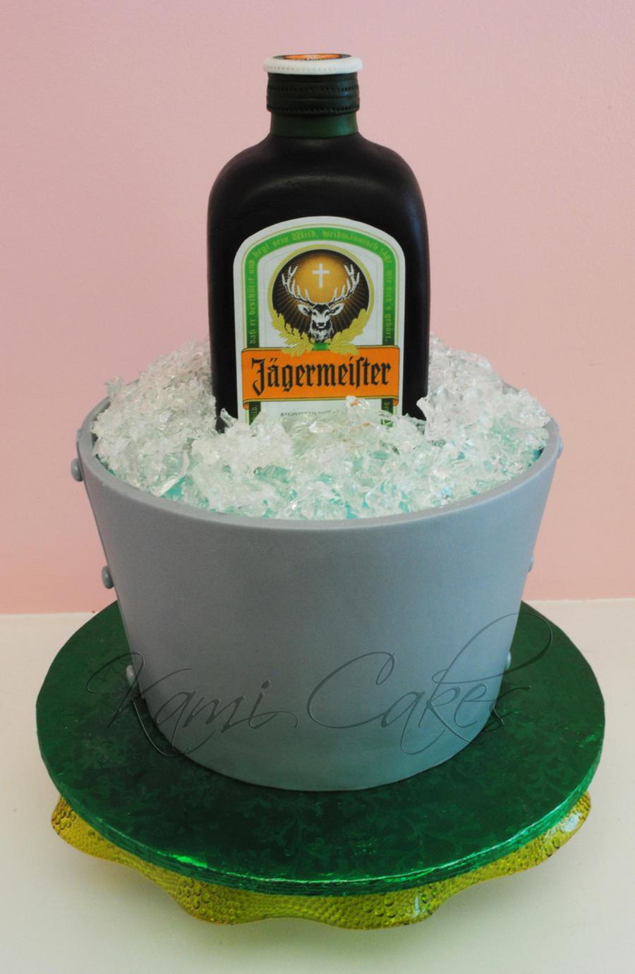 Jager Birthday Cake