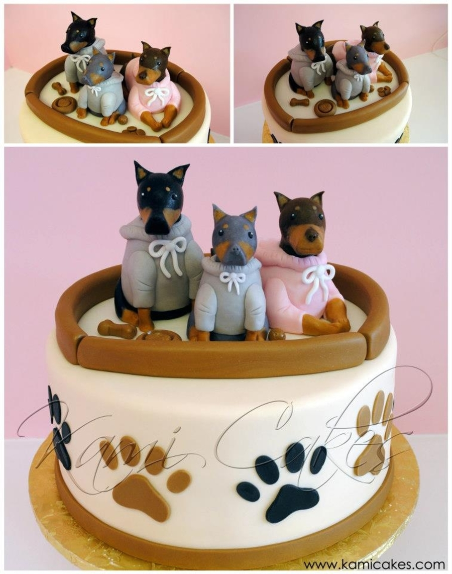 Dog Lover Birthday Cake  on Cake Central