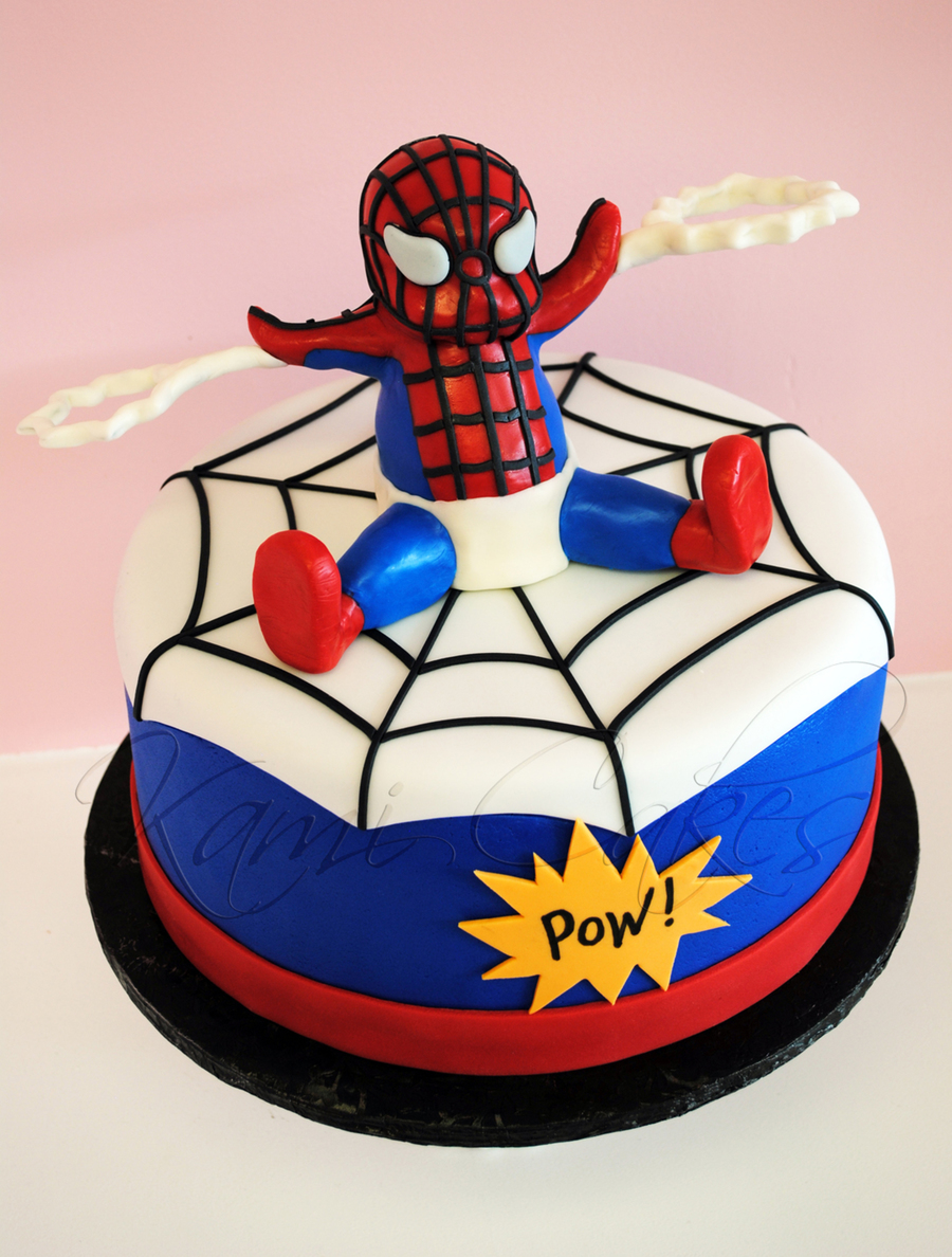 Baby Spiderman!  on Cake Central