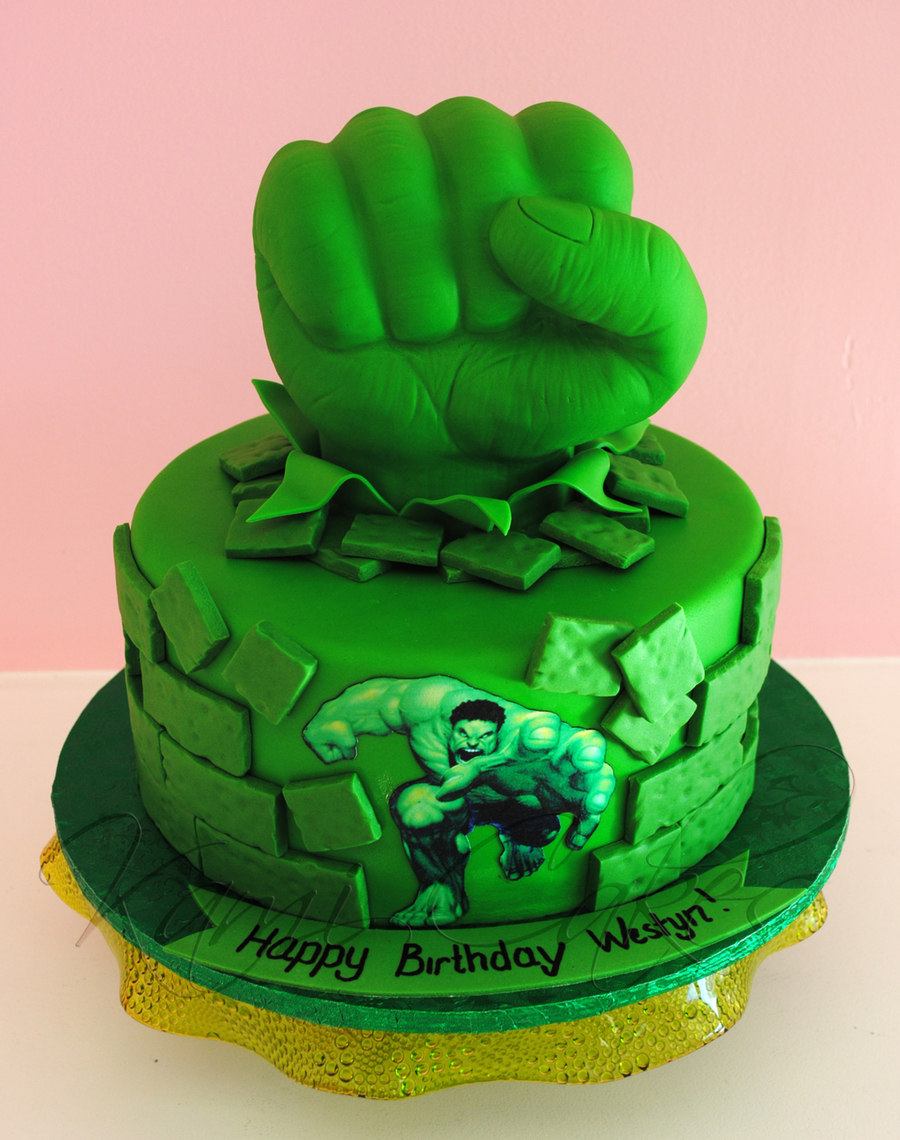 Hulk Smash! on Cake Central