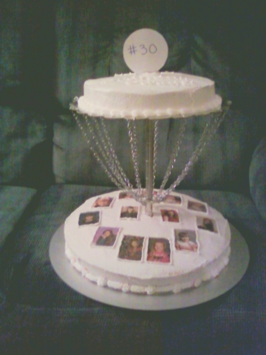 Disc Golf Birthday Cake Cakecentral Com
