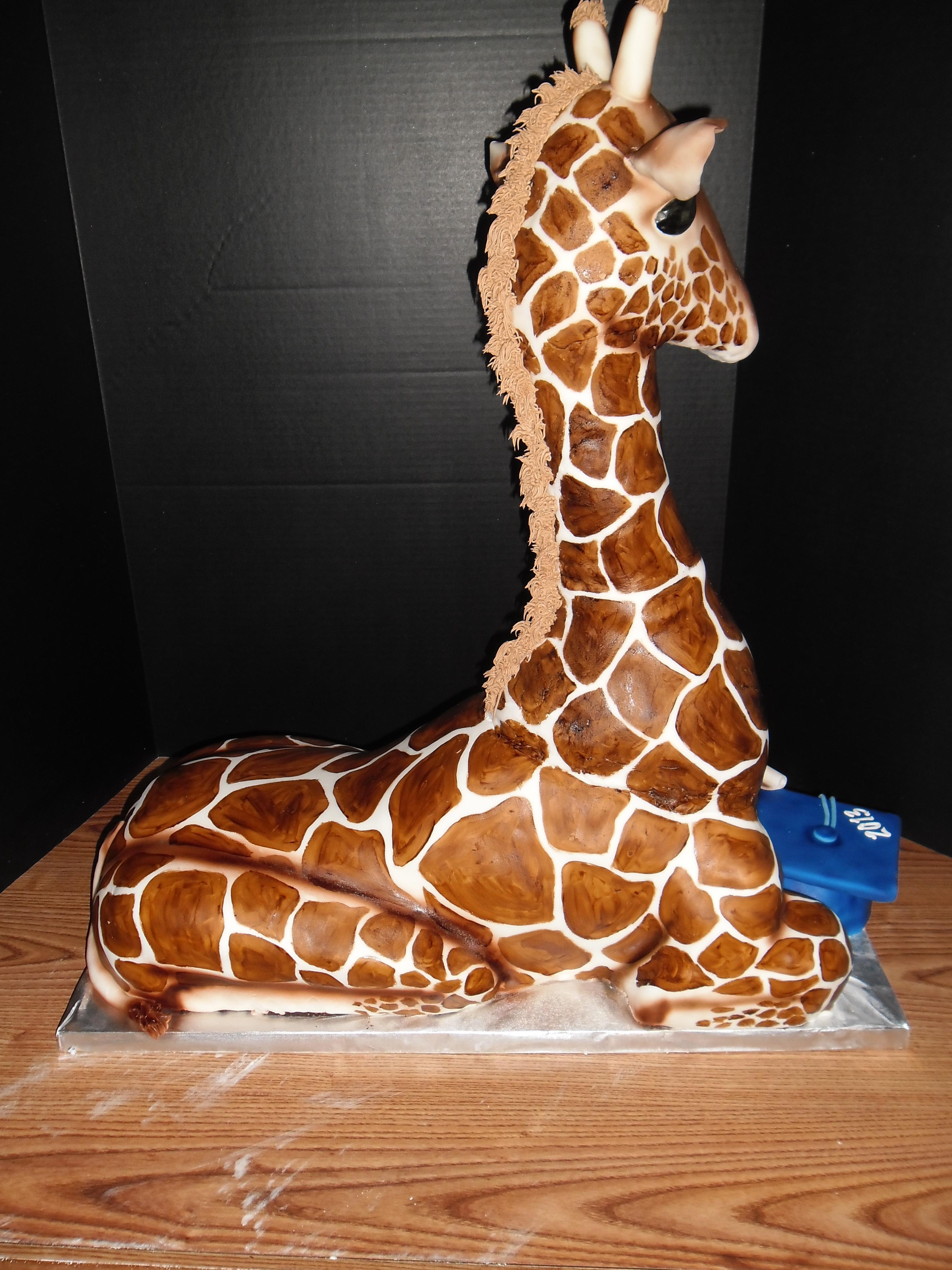 Giraffe Birthday Cake Recipe