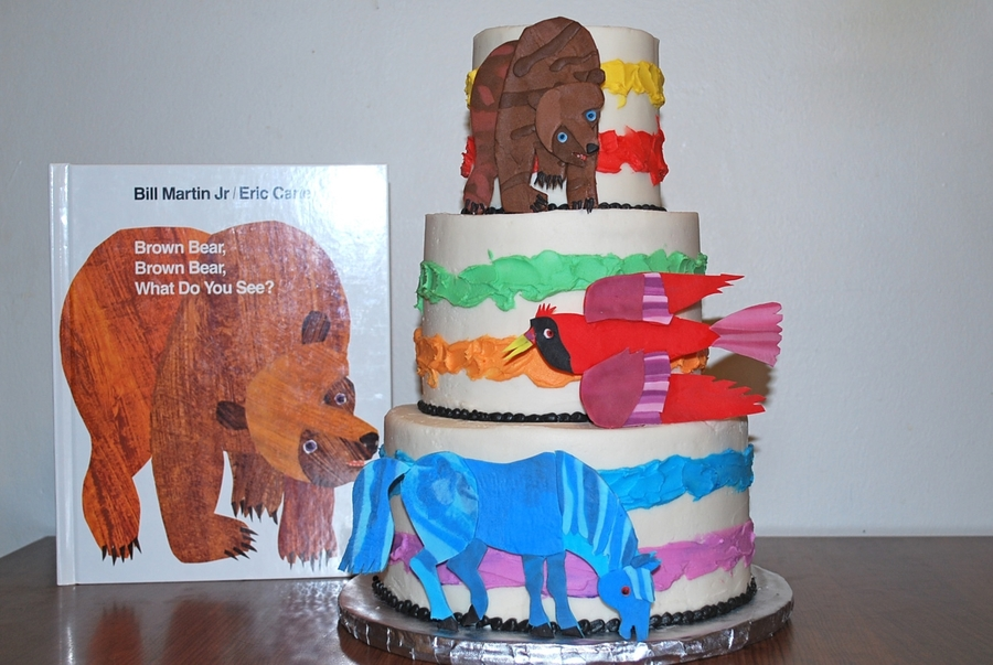 Brown Bear, Brown Bear Cake on Cake Central