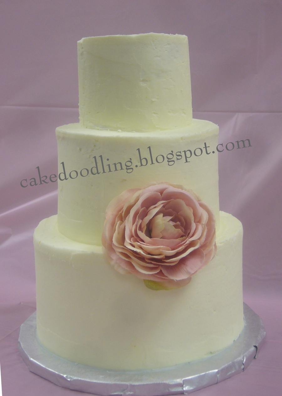 Simple Flower Baby Shower on Cake Central