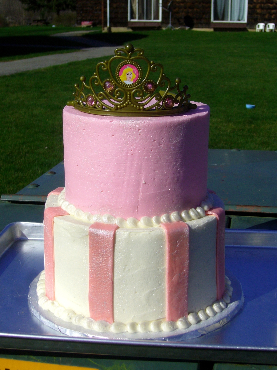 Pink Princess on Cake Central