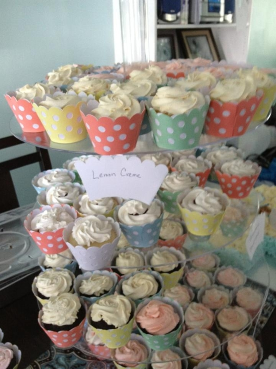 Cupcakes For Christening on Cake Central
