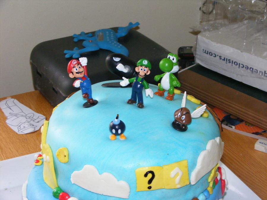 Birthday Cakes Of My Boy 7 Years Old He Love Mario Bros