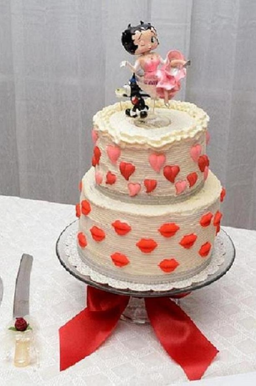 Betty Boop Wedding Cake on Cake Central