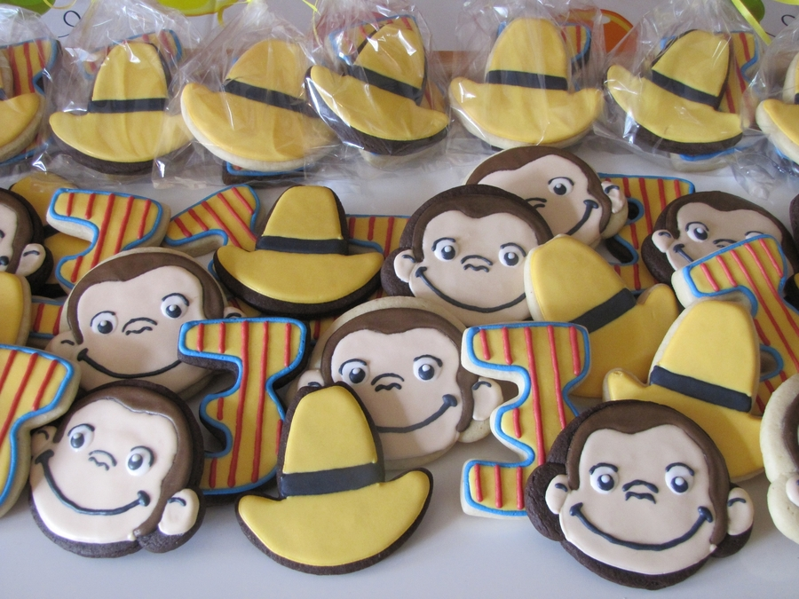 Curious George Birthday Cookies on Cake Central