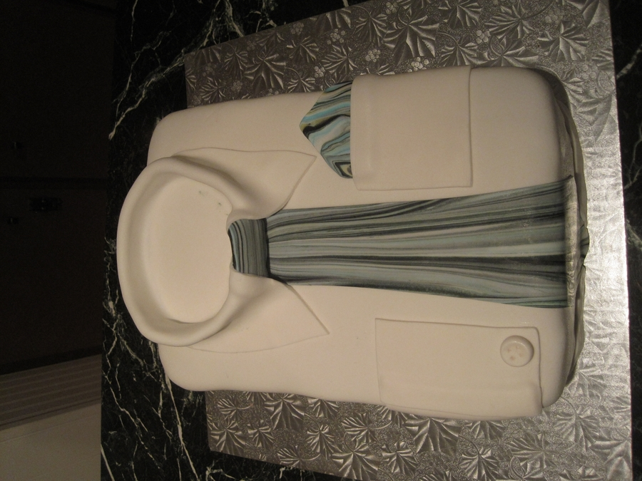 Fathers Day Shirt And Tie on Cake Central