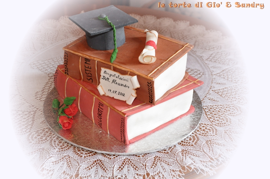 Alessandro Graduation Cake on Cake Central