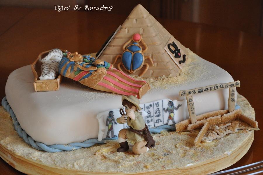 Enjoyable Ancient Egypt Cakecentral Com Funny Birthday Cards Online Necthendildamsfinfo