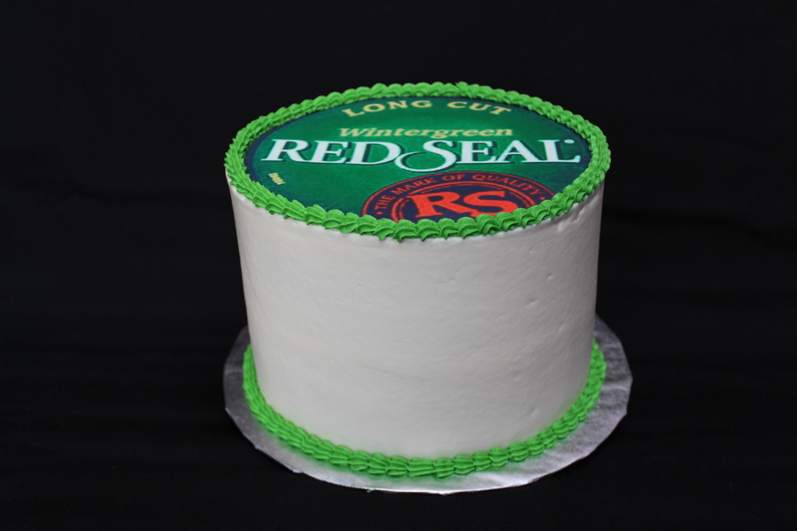 Red Seal Snuff Cake (Birthday Cake) on Cake Central