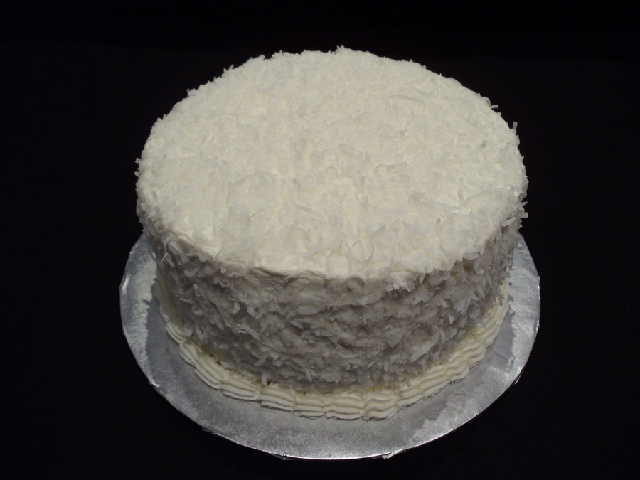 Coconut Cream Cake on Cake Central