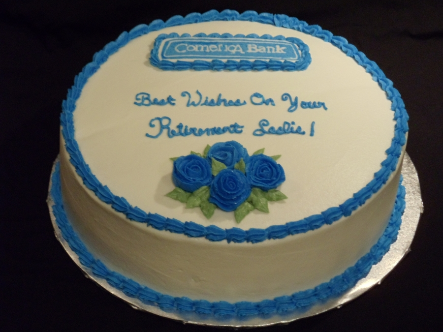 Retirement Cake on Cake Central