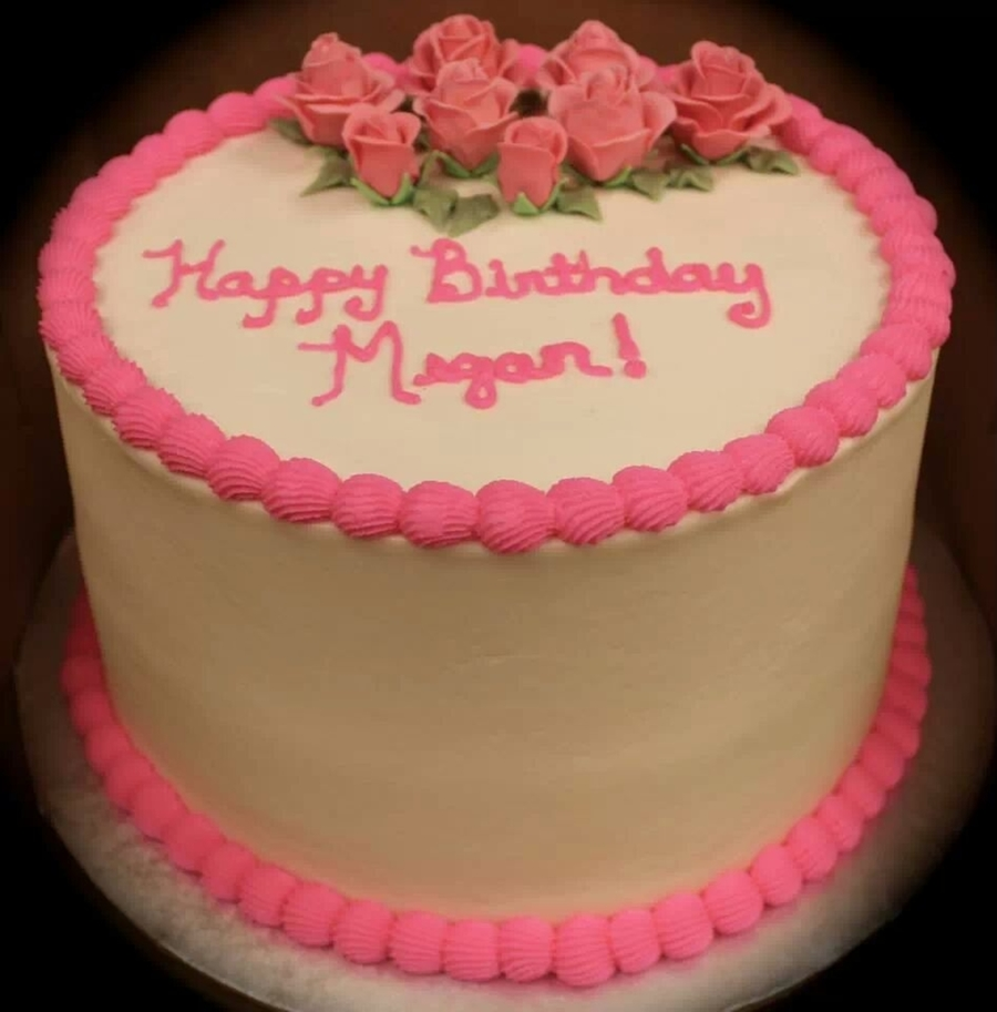 Megan Birthday Cake