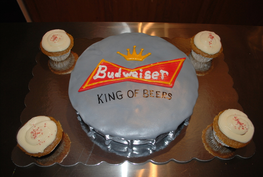 Beer Top Cake on Cake Central
