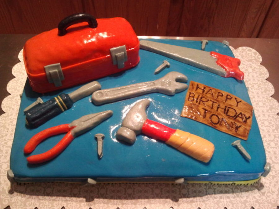Birthday Tool Cake on Cake Central
