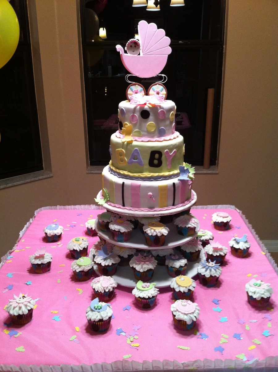 Baby Shower Cake For Daughter And Grandaughter on Cake Central