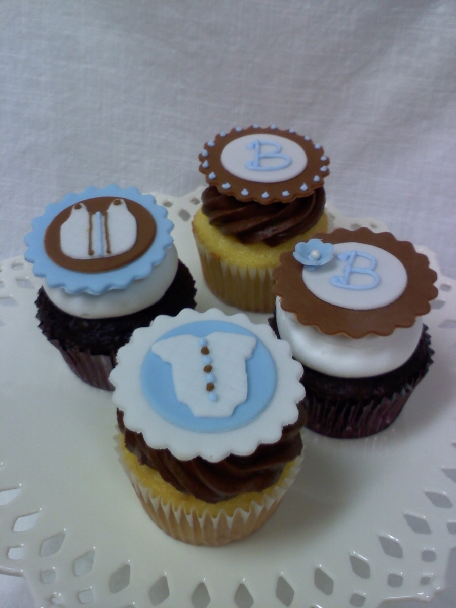 Boy Baby Shower Cupcakes Cakecentral
