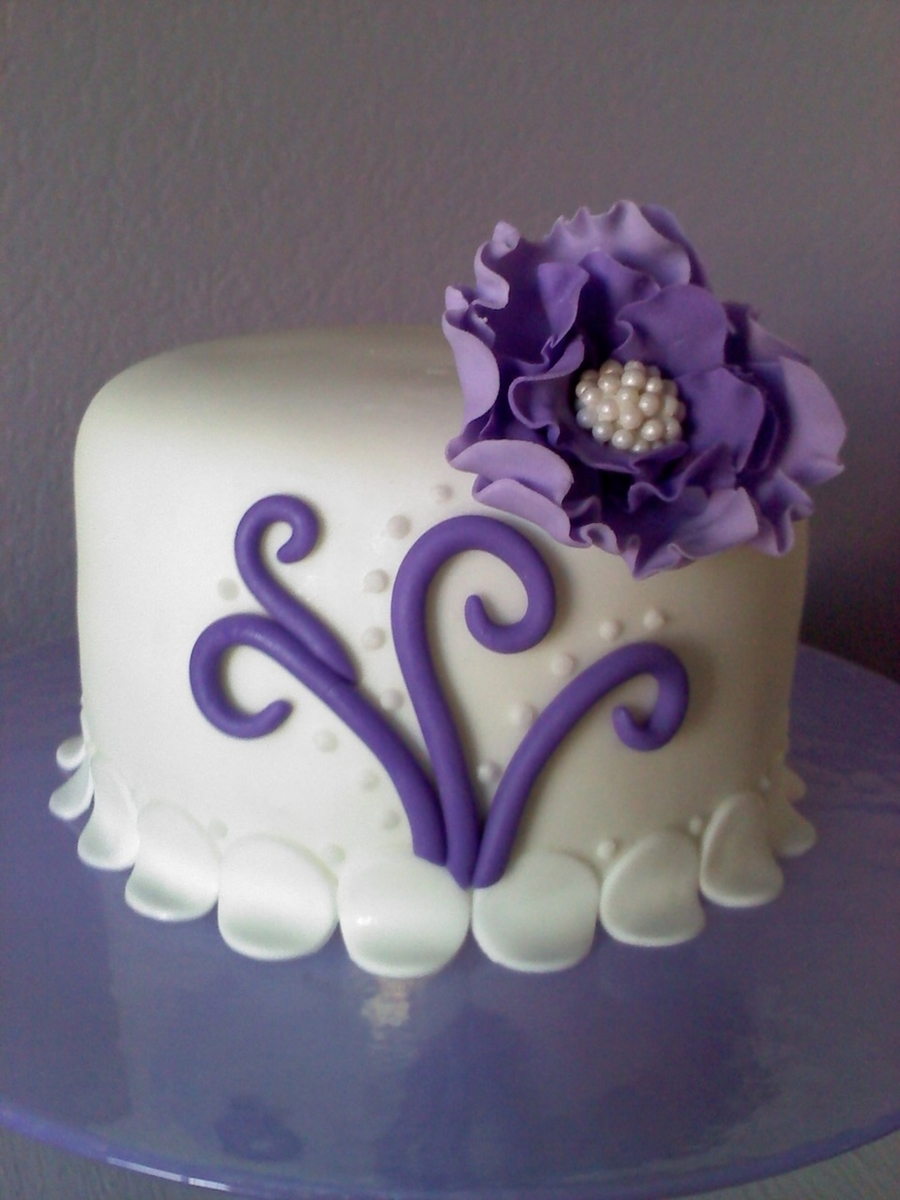 Simply Girly Cake - CakeCentral.com
