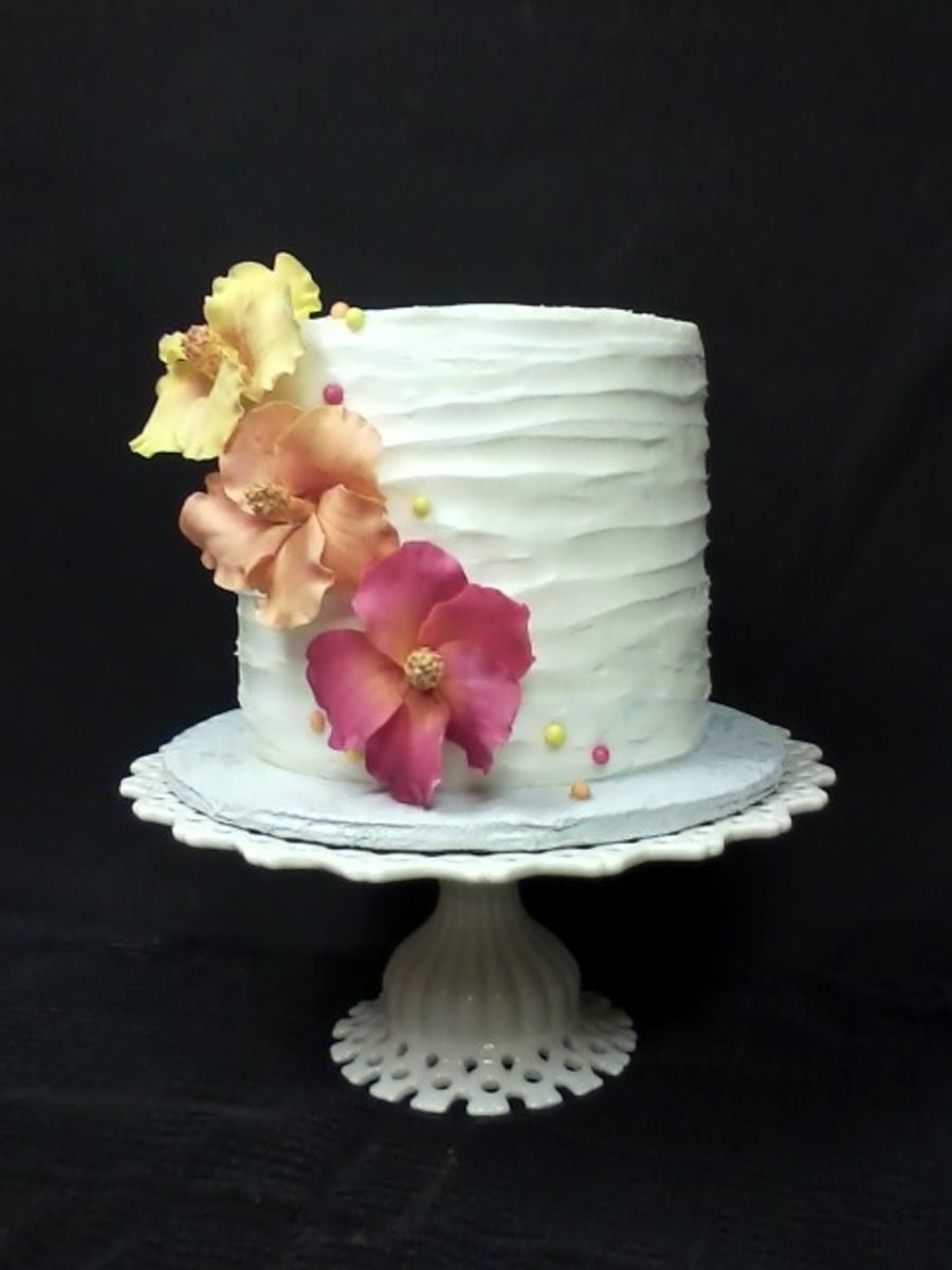 50th Birthday Cake Display Plate CakeCentral Is The Worlds Largest Community For Decorating Professionals And Enthusiasts