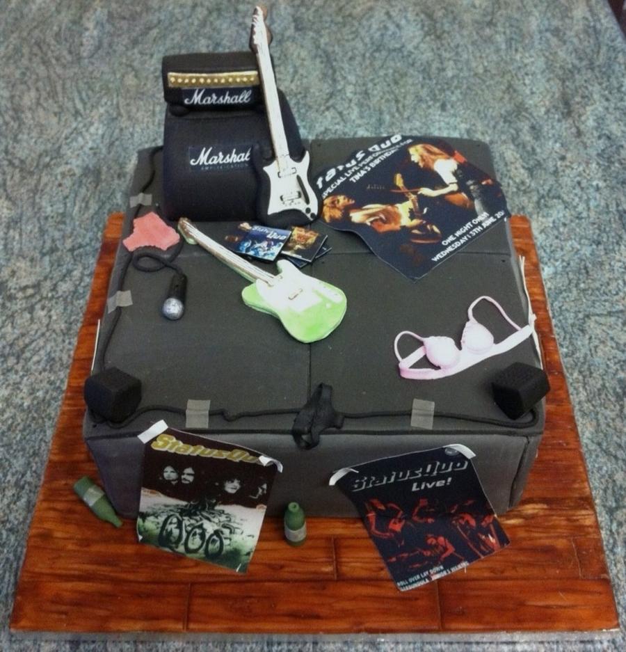 Status Quo Cake Cakecentral Com