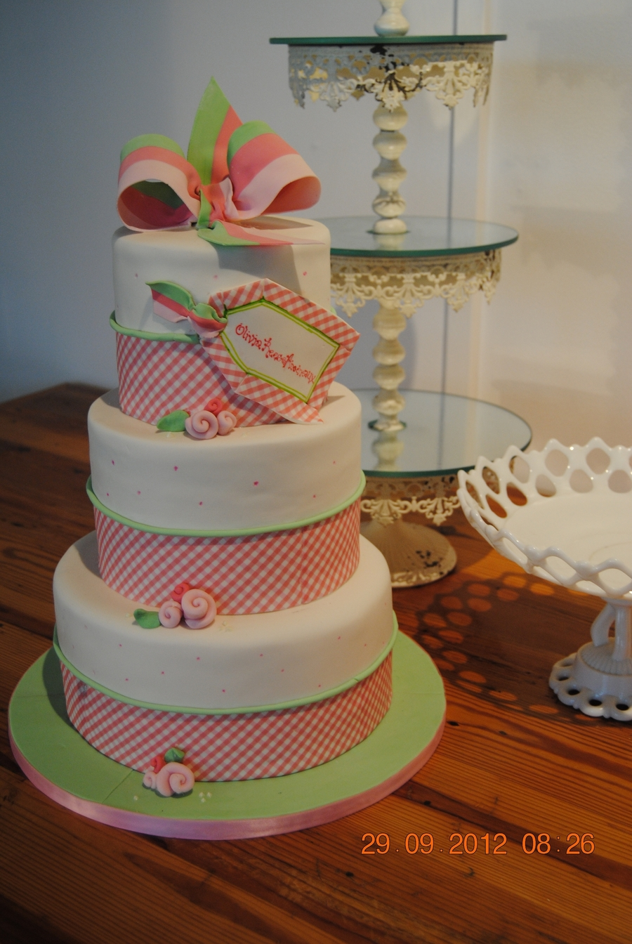 Baby Shower Cake To Match Invitation on Cake Central