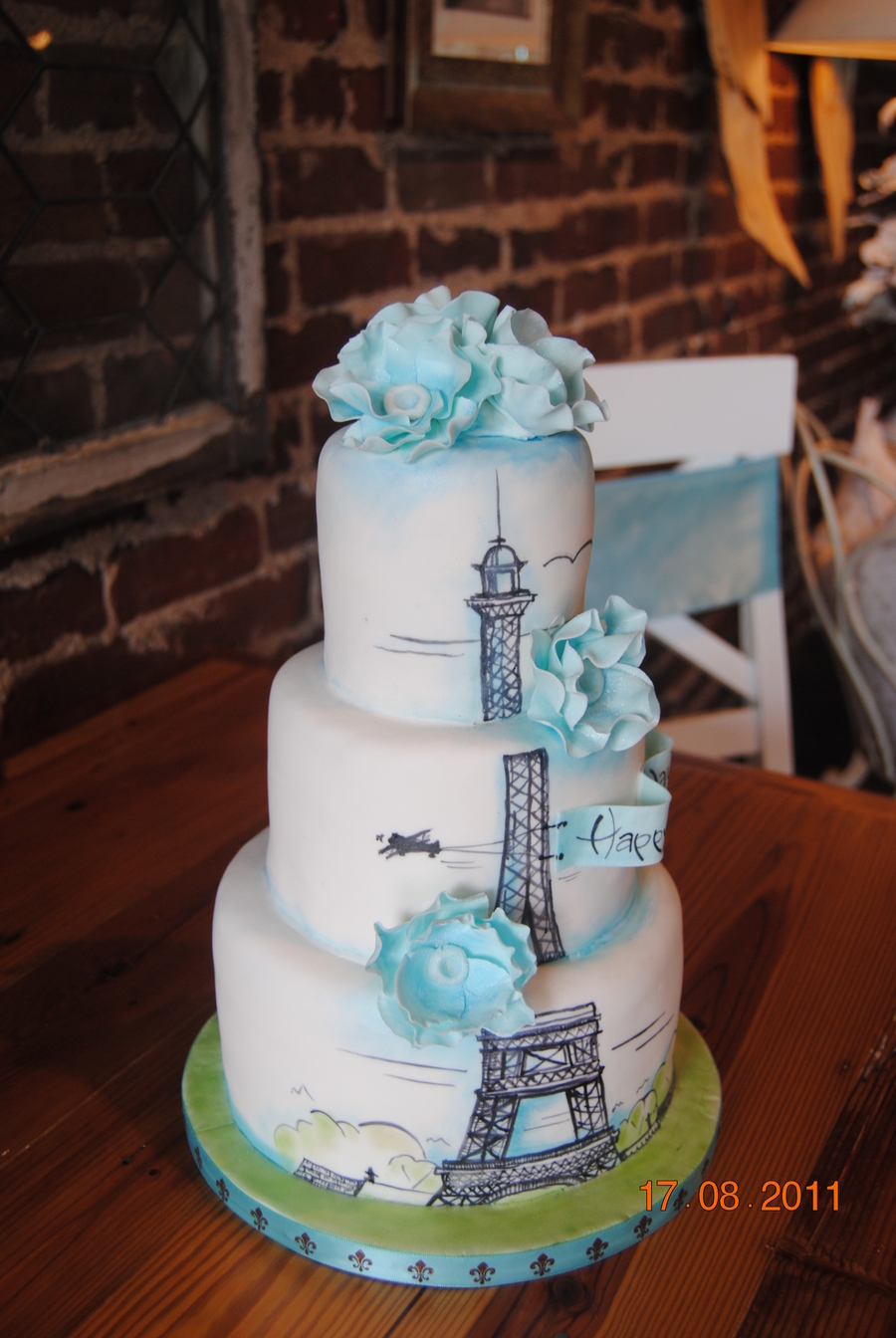 Paris Birthday Cake Cakecentral