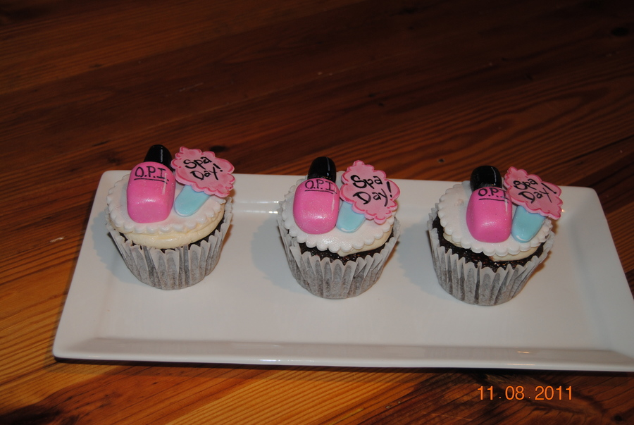 Spa Day Cupcakes  on Cake Central