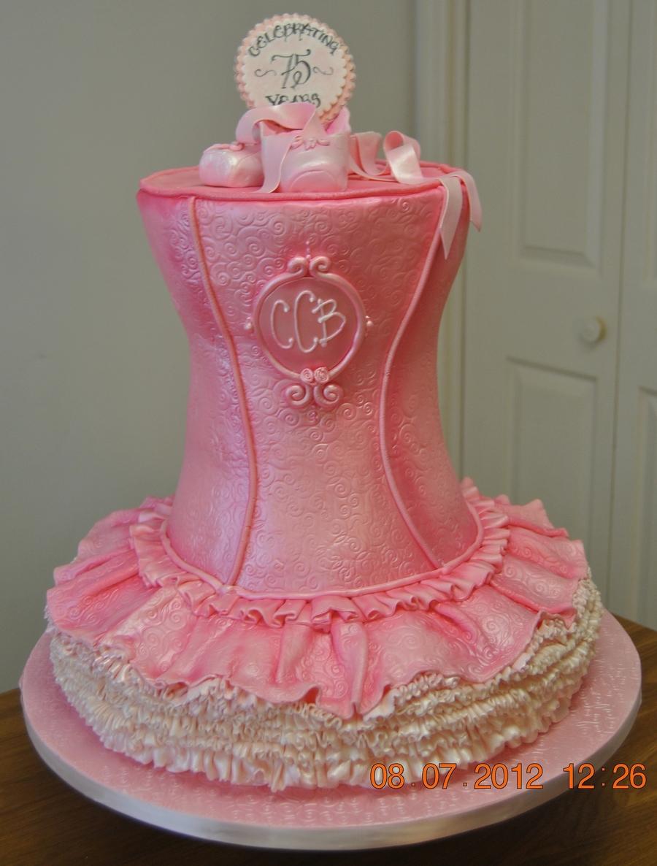 Ballet cake for Ballerina cake decoration
