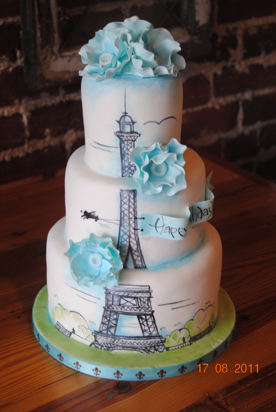 parisian wedding cakes birthday cake cakecentral 18115